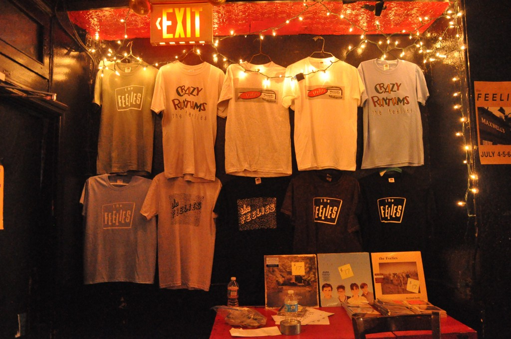 Feelies merch