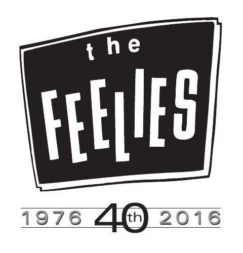 Feelies logo 40th years